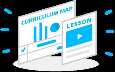 curriculum map icon